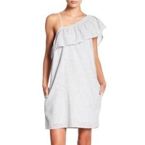 Beachlunchlounge Jessmina  Stripe  Linen Dress